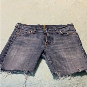 Seven for All Mankind Jean shorts!!